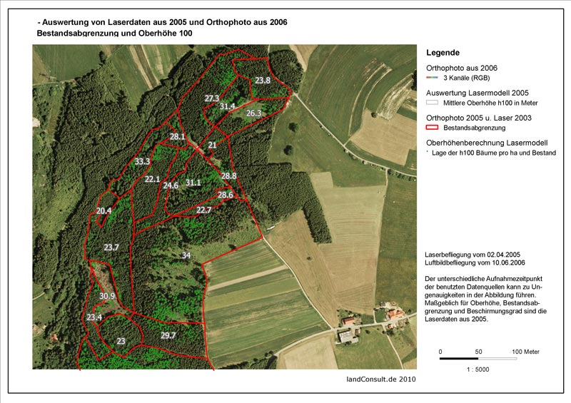 Topic for M.Sc thesis: Application of multi-seasonal RapidEye satellite imagery for inventory of private and municipal forests in the northern Black Forest