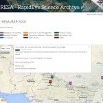 New RapidEye datasets granted from RESA platform of DLR/Black Bridge