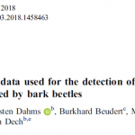 New publication: Synthetic RapidEye data used for detecting spruce tree mortality induced by bark beetles
