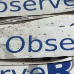 Earth ObserveR sticker