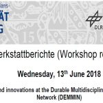 Workshop Reports at the Department of Remote Sensing – June 13, 2018