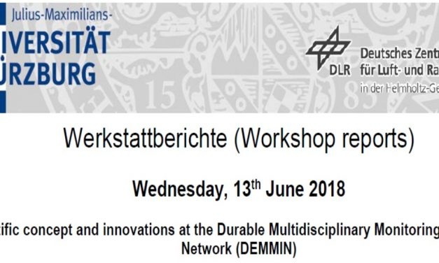 Workshop Reports at the Department of Remote Sensing – July 11, 2018