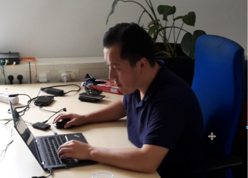 Two guest scientists from Central Asian countries