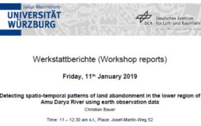 Workshop Report at the Department of Remote Sensing – January 11, 2019