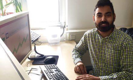 new PhD student Maninder Singh Dhillon